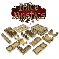 Cheesy game organizer for Mice and Mystics