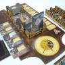 Mice and Mystics board game organizer - Mice and Mystics game process with a cheesy game organizer