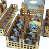 Mice and Mystics board game organizer - Cheesy game organizer for Mice and Mystics board game made of wood by GameBoxAdvanced