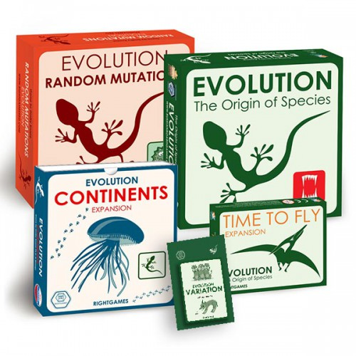 Evolution Board game with Expansions Set