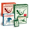 Evolution Board game with Expansions Set  - Evolution set - 5 boxes - The Origin of Species, Time to fly, Continents, Random mutation, Variation