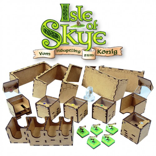 Isle of Skye board game organizer Game organizer (for Isle of Skye) is a very useful thing.