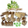 Isle of Skye board game organizer - Wooden game organizer for Isle of Skye board game, unique design by GameBoxAdvanced