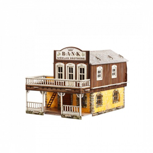 Bank  Bank is a smart UMBUM 3d puzzle, terrain for Wild West World!