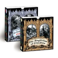 The Kingdoms of Crusaders board game set with expansion
