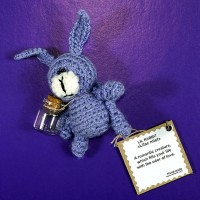 Little Lilac Rabbit Handmade Toy
