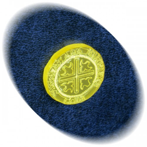 Gold coin for Swords and Bagpipes