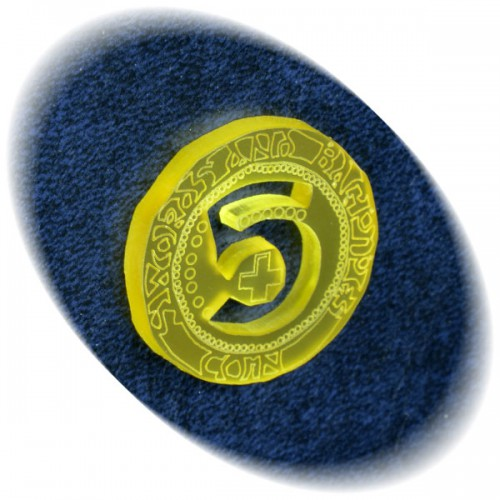 5-gold coin for Swords and Bagpipes
