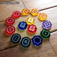 TokenForge Plus - Keyforge compatible token set