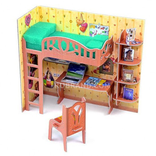 Pupil's corner  Pupil's corner is perfect for your dollhouse!