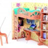 Pupil's corner  - Pupil's corner furniture for Dollhouse with a chair