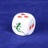 Evolution Apple dice