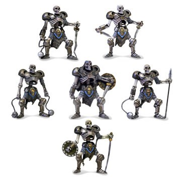 Undead Army  Undead Army - Big miniatures of skeletons are an excellent upgrade for your Undead army.
