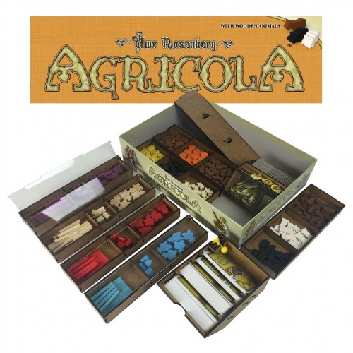Agricola board game insert