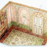 Children's room roombox  - Children's room roombox decorated in classic English rococo style