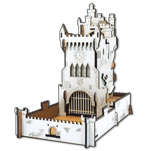 White Castle dice tower