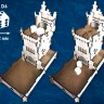 White Castle Dice Tower  - White Castle dice tower