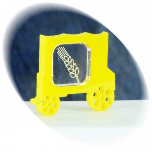 Grain in the yellow wagon token
