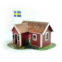 Small Swedish house
