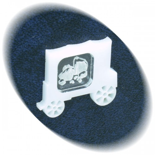Ore in the white wagon token