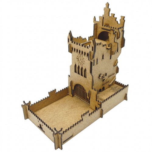Old castle dice tower