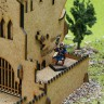 Old castle dice tower  - Old castle dice tower for games with miniatures
