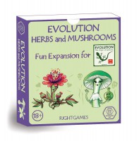 Evolution. Herbs and Mushrooms