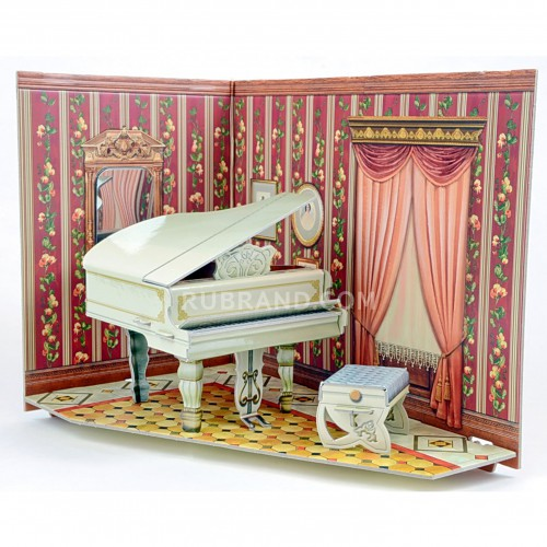 Music Room  Music room is perfect for your dollhouse!