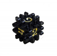 Hedgehog dice (black)