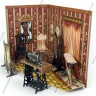Tailor's workshop set  - Retro furniture for dolls