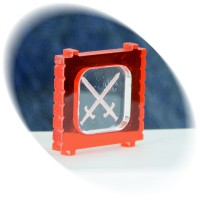 Weapon (swords) in the red container token